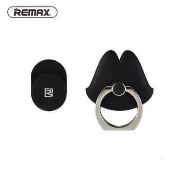 Кольцо-держатель для телефона Remax Ring Holder Free Buckle Black