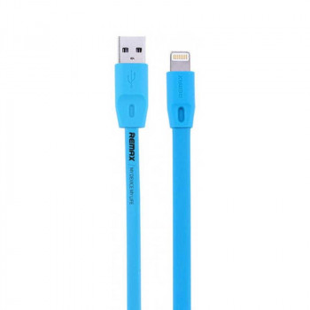 Remax Full Speed Series, 8pin, 2m, плоский (RC-001i) blue