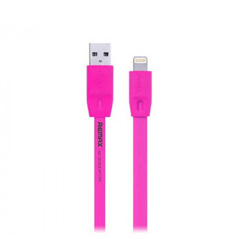 Remax Full Speed Series, 8pin, 2m, плоский (RC-001i) pink