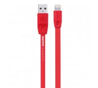 Remax Full Speed Series, 8pin, 2m, плоский (RC-001i) red
