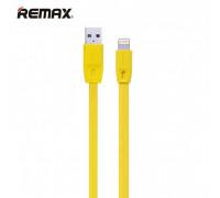 Remax Full Speed Series, 8pin, 1m, плоский (RC-001i) yellow