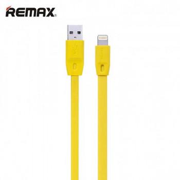 Remax Full Speed Series, 8pin, 2m, плоский (RC-001i) yellow