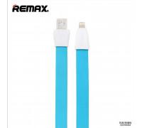 Remax Full Speed 2 Series, 8pin, 1m, плоский, blue