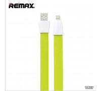 Remax Full Speed 2 Series, 8pin, 1m, плоский, green