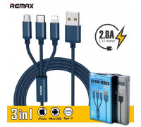 Remax Gition Series 3-in-1 (L+M+C) (RC-131th) blue
