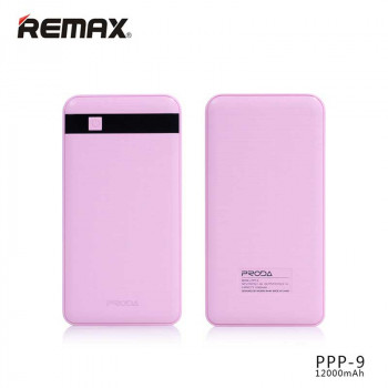 Remax Proda Gentleman Power Bank 12000mAh Pink