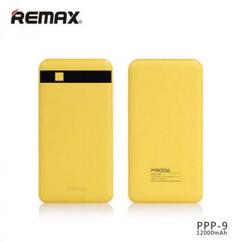Remax Proda Gentleman Power Bank 12000mAh Yellow