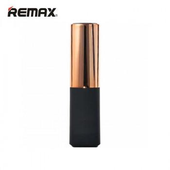 Внешний аккумулятор в виде губной помады Remax Lipmax Series Lipstick Power Bank 2400 mAh Golden (Золотой)