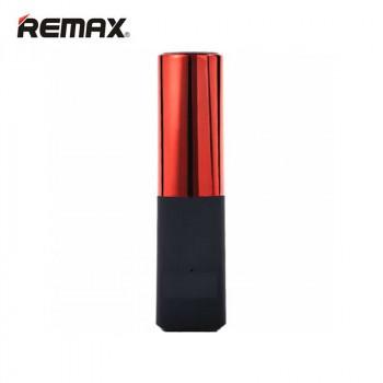 Внешний аккумулятор в виде губной помады Remax Lipmax Series Lipstick Power Bank 2400 mAh Red (Красный)