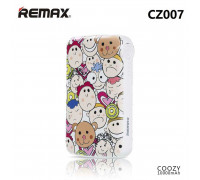 Remax Coozy Power Bank 10000mah (детские лица) (CZ-007) white