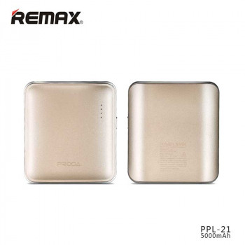 Внешний аккумулятор Remax Proda Mink Power Bank 5000 mAh (PPL-21) Golden