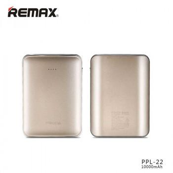 Внешний аккумулятор Remax Proda Mink Power Bank 10000 mAh (PPL-22) Golden