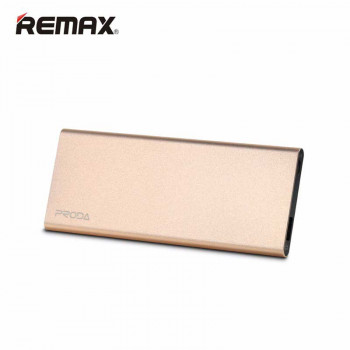 Remax Proda Vanguard Polymer Battery Power Bank 8000 mAh (PP-V08) Golden