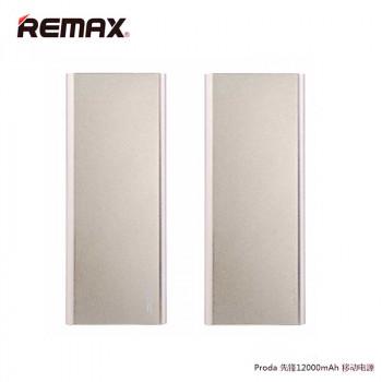Remax Proda Vanguard Polymer Battery Power Bank 12000 mAh (PP-V12) Golden