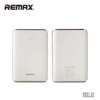 Внешний аккумулятор Remax Tiger Power Bank 5000 mAh (RPP-33) White