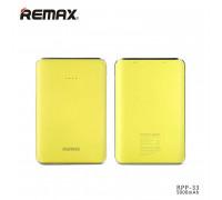 Remax Tiger Power Bank 5000 mAh (RPP-33) Yellow