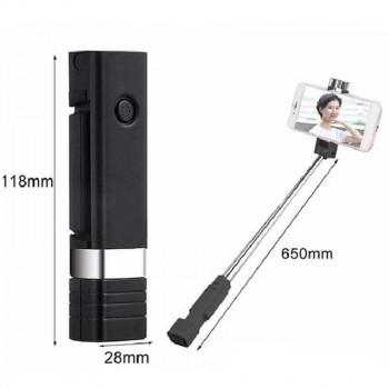 Remax Mini XT-P01 Bluetooth Selfie Stick Black