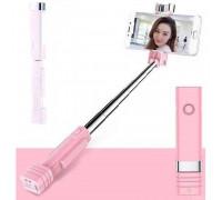 Remax Mini XT-P01 Bluetooth Selfie Stick Pink