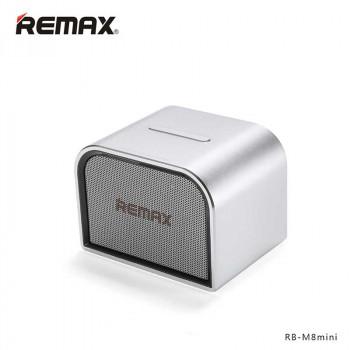 Настольная колонка Remax RB-M8 Mini Bluetooth Speaker Silver