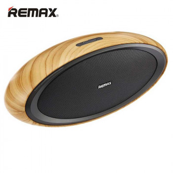 Настольная колонка Remax RB-H7 Wooden Desktop Bluetooth Speaker