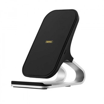 Remax RP-W12 Aluminum Alloy Wireless Charger, 10w, black
