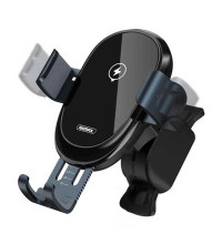 Remax Sensor Mount Wireless Charger, QI 10w, в решетку (RM-C39) black
