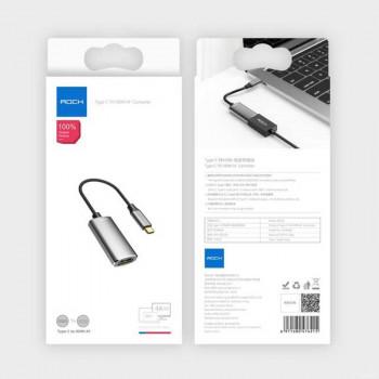Rock Type-C to HDMI AF Converter, USB3.1 Type-C, 4K (RCB0661) black