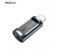 Rock Type-C to Lightning Adapter, 2.1A (RCB0605) black