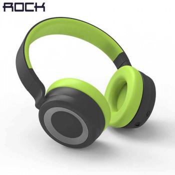 Rock S7 Over-ear Bluetooth Headphone (RAU0538) dark gray & green