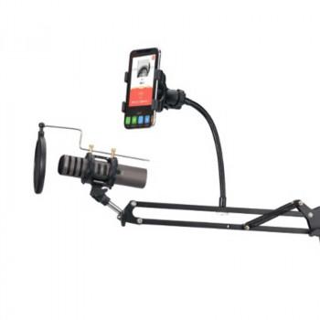 Настольный держатель для микрофона и телефона ROCK Adjustable Microphone Stand