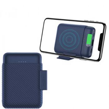 Внешний аккумулятор Rock P51 Mini Wireless Charging Power bank 10000mAh (W1063) с беспроводной зарядкой