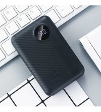 Rock P75 10000mAh Mini Camera PD Power Bank, LED, microUSB/Type-C input (RPM00408) black