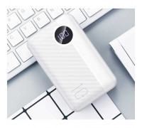 Rock P75 10000mAh Mini Camera PD Wireless Power Bank, LED, Qi 10w (RPM00409) white