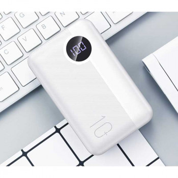 Внешний аккумулятор Rock P75 Mini Camera PD Wireless Charging Power bank 10000mAh QC (RMP0409) с беспроводной зарядкой