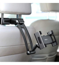 "Rock Universal Stretchable Car Headrest Mount, 5""-12"" silver"