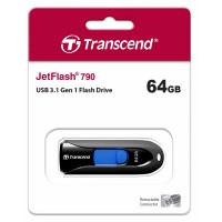 Transcend JetFlash 790 USB3.1 64GB (TS64GJF790K)