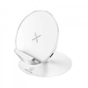 Usams Lote Series Center Console Wireless Charger, QI 10w (US-CD56) white