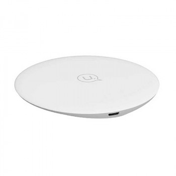Usams Ultra-Thin / Plated Wireless Fast Charging Pad QI 10w (US-CD24) white