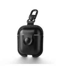 Usams Leaser Case For Airpods, кожаный (US-BH475) black