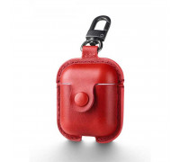 Usams Leaser Case For Airpods, кожаный (US-BH475) red