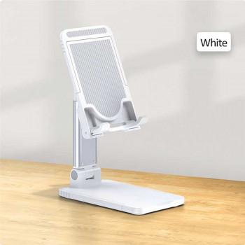Usams Retractable Desktop Phone&Tablet Stand, складная подставка на стол (US-ZJ059) белый