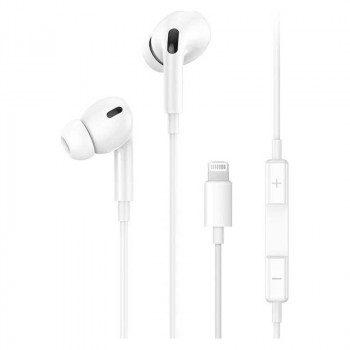 Usams EP-41 Lightning Earphone (US-SJ453) white