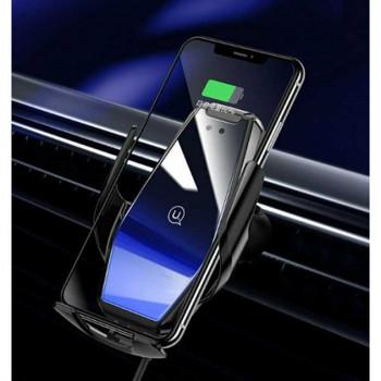 Автомобильный держатель с беспроводной зарядкой USAMS US-CD126 Wireless Charging Car Holder - Penguin Series 15W (Air Vent)