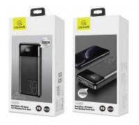 Usams 30000mAh PB38 2xQC3.0+PD Fast Charging Power Bank (US-CD103) black