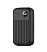 Usams 10000mAh PB35, QC3.0+PD, LED, Type-C/microUSB input (US-CD98) black
