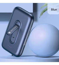 Usams PB51 Nano Adsorption 4000mAh Wireless Charging Power Bank with Holder (US-CD136) blue