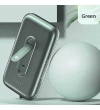 Usams PB51 Nano Adsorption 4000mAh Wireless Charging Power Bank with Holder (US-CD136) green