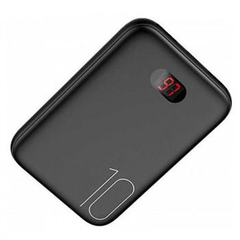 Внешний аккумулятор Usams PB9 Dual USB Mini Digital Power Bank (US-CD66) 10000 mah Black
