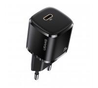 Usams T36 Mini PD Fast Travel Charger (EU),  PD 20w (US-CC124) black