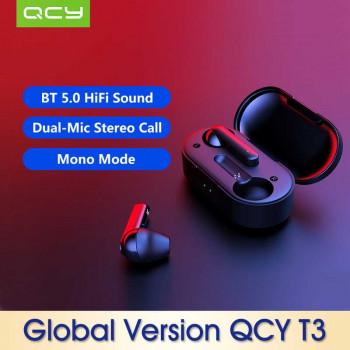 Xiaomi QCY T3 TWS Bluetooth Earphones, Model In1915  (QCY-T1C) black